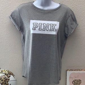 NWT VS Pink Everyday Logo Tee Small